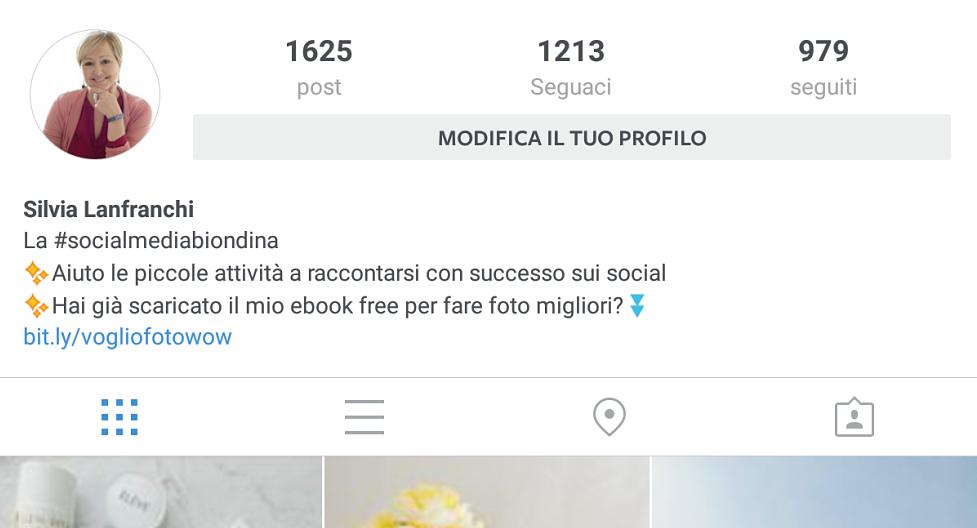 Favorito Come creare la perfetta biografia sul tuo profilo Instagram  RQ51