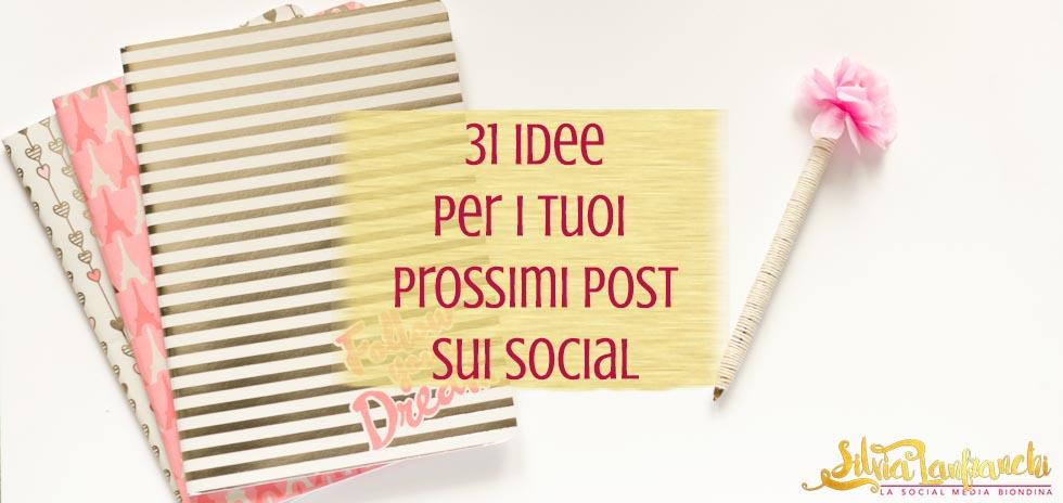 31 idee post social