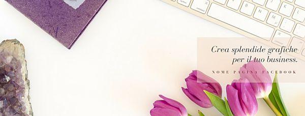 cover facebook da foto stock con tulipani