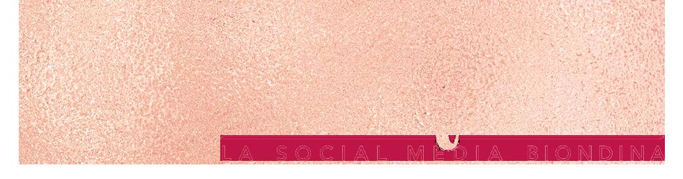 Silvia Lanfranchi, la Social Media Biondina