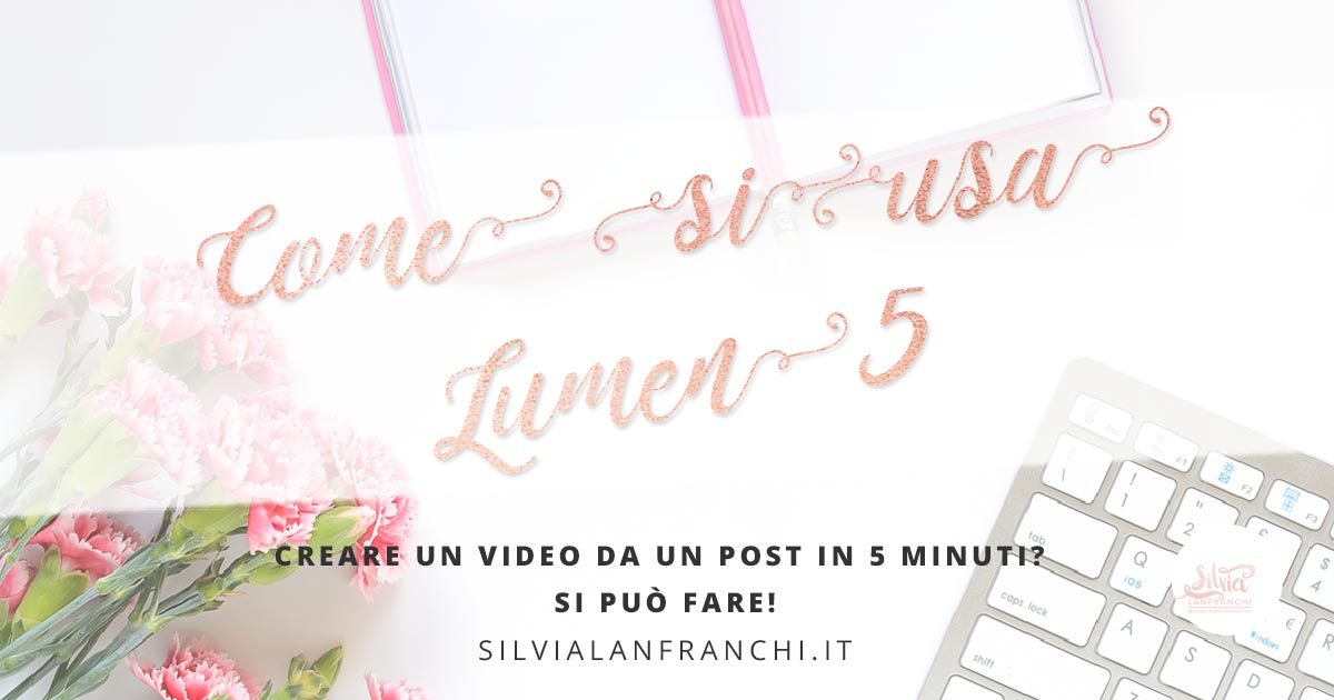 Creare un video da un post in 5 minuti? Si può fare!