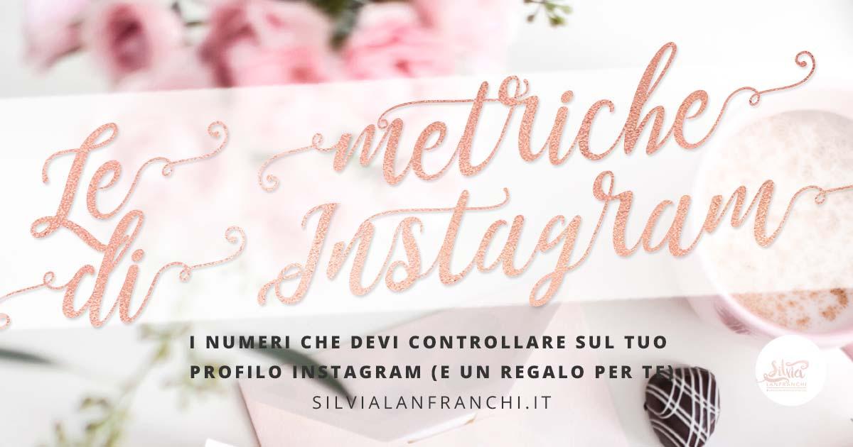 metriche di Instagram