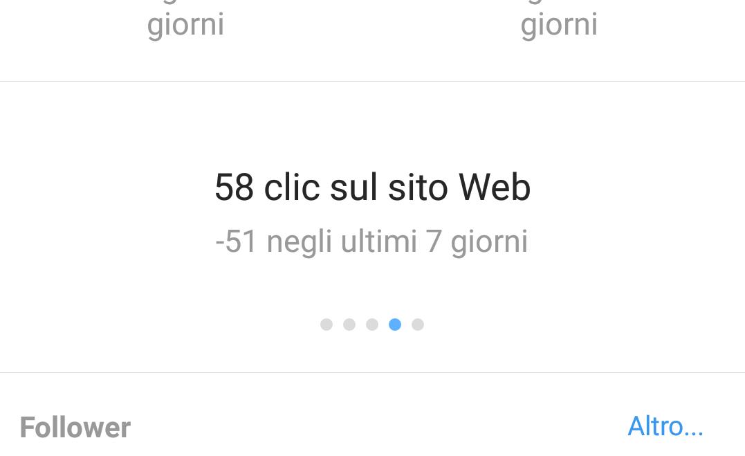 clic sul sito web da Instagram