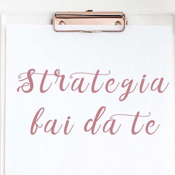 Strategia fai da te il corso online