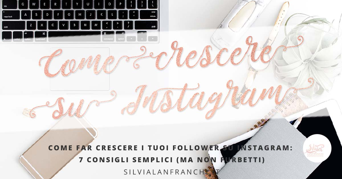 crescere follower instagram