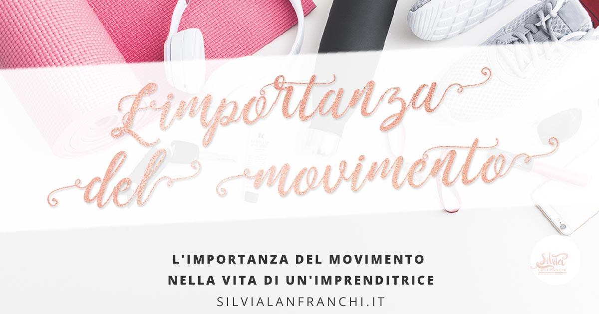 L'importanza del movimento nella vita di un freelance