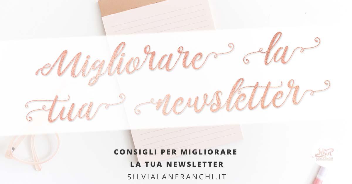 Migliorare la tua newsletter