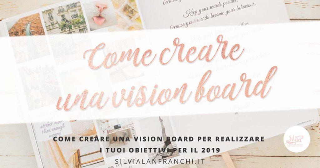 Come creare una vision board da agenda