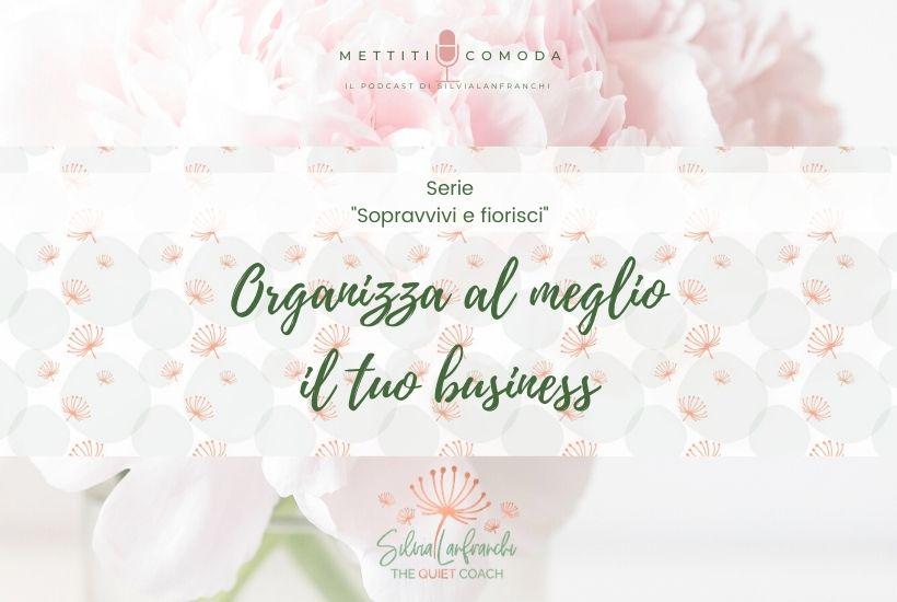 organizza-meglio-business-sopravvivi-fiorisci-1-mettiti-comoda-silvia-lanfranchi-podcast